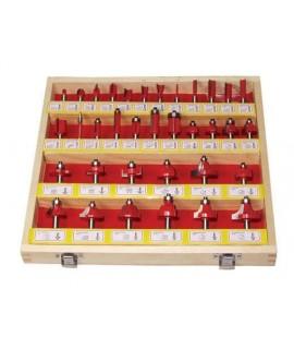 Set freze profilate 8 mm 35 buc RAIDER