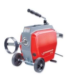 ROTHENBERGER R750 - Masina electrica pentru desfundat conducte Ø20-200mm 72910