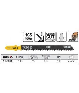 YT-3404 Lama HCS pentru fierastrau pendular YATO