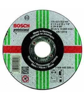 Set 25 discuri taiere metal Bosch - executie plana