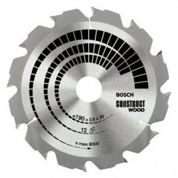 Bosch Construct Wood - disc pentru lemn