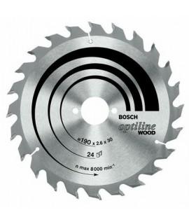 Bosch Optiline Wood - disc pentru lemn