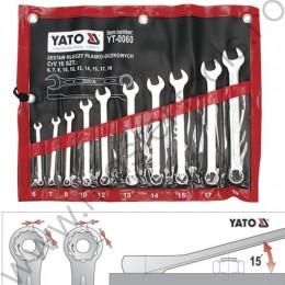 Set 10 chei combinate 6-19 MM YATO YT-0060