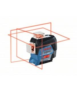 BOSCH GLL 3-80 C+BM1 Nivelă laser cu linii  3 x 360 grade cu suport