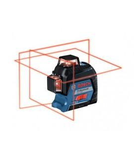 BOSCH GLL 3-80 Nivela laser cu linii + BT 150 Stativ pentru constructii