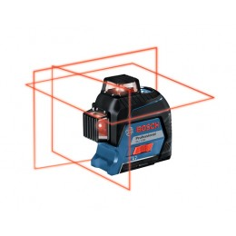BOSCH GLL 3-80 Nivela laser cu linii + BT 150 Stativ pentru constructii 06159940KD