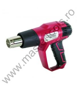 RAIDER Pistol de aer cald 2000W 3 trepte display LCD RD HG23