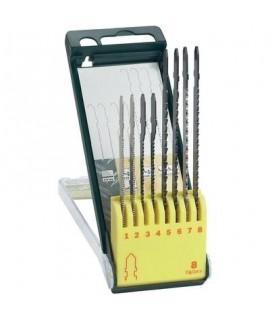 Set 8 panze pentru fierastrau pendular pentru lemn/metal BOSCH