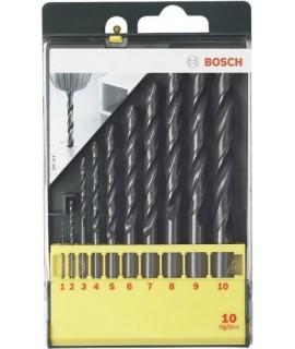 Set 10 burghie metal HSSR BOSCH