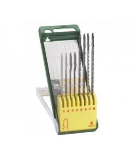 Set 8 panze pentru lemn si metal BOSCH