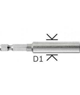Adaptor universal cu magnet permanent 75 mm BOSCH