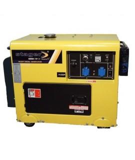DG 5500SE - Generator diesel cu automatizare,insonorizat STAGER