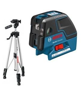 GCL 25 Professional + BS 150 - Nivela laser + stativ BOSCH