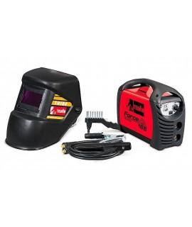 FORCE 165  230V ACX + HELMET - Aparat de sudura MMA TELWIN + Masca de sudura
