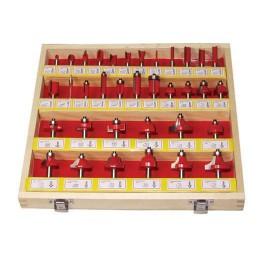 Set freze lemn profilate prindere 8 mm 35 buc RAIDER