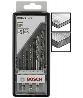 2607019923 Set 7 buc. burghie elicoidale Robust Line BOSCH