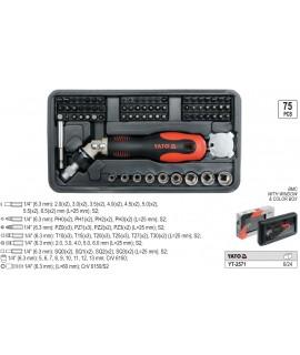 YT-2571 Set surubelnita flexibila Yato