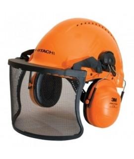 HITACHI Casca cu protectie pentru padurari 713511