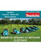 Oferta Masini de gradina cu motor termic si electric Vara Makita 2021