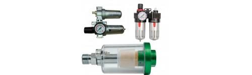 Dispozitiv de filtrare a aerului pentru sculele pneumatice